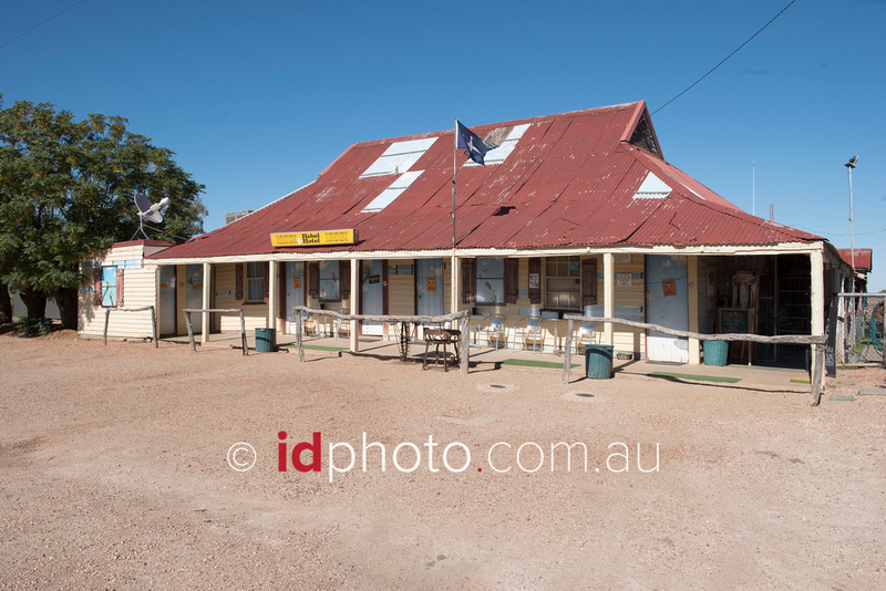Pub in Hebel, QLD
